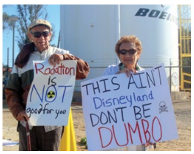 protests at SSFL
