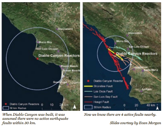 Diablo Canyon Earthquake Fault